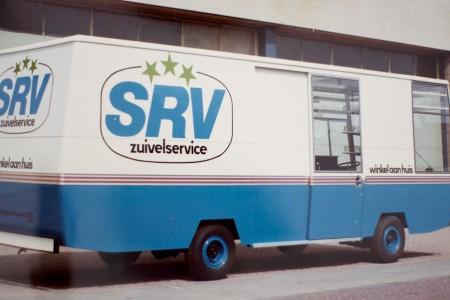 SRV wagen met verantwoorde en lokale producten